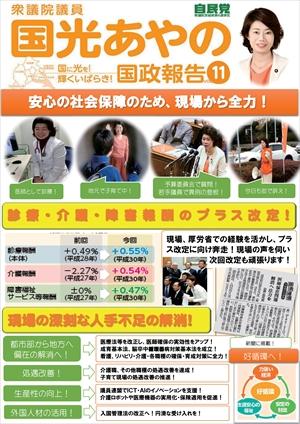 【国政報告第11号】